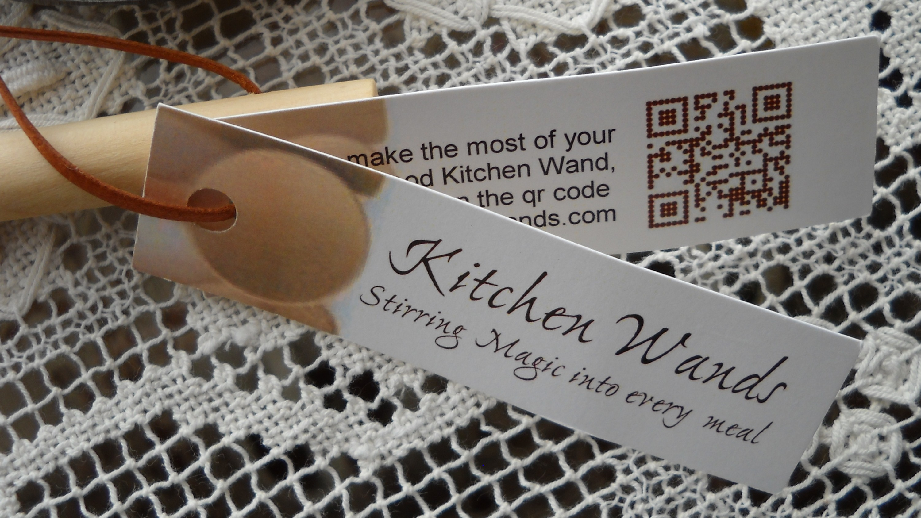 Kitchen wand qr tags for Küchen wand